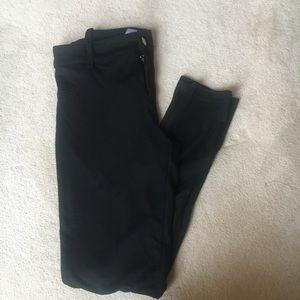 Black stretchy work pants